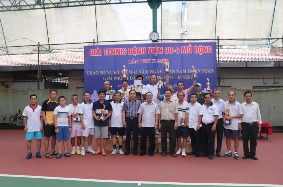 Giải Quần vợt Bệnh viện 30-4 mở rộng, lần thứ X